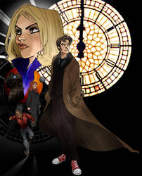 Doctor Who by Sally-Avernier