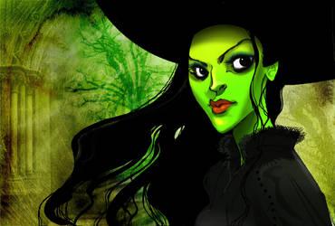 Wicked - Elphaba by Sally-Avernier