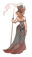 Steam girl by Sally-Avernier