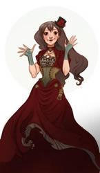 Steam girly by Sally-Avernier