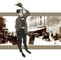 inspector Lestrade by Sally-Avernier