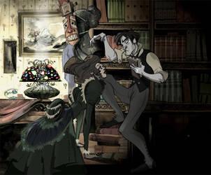 Sherlock and Irene. by Sally-Avernier