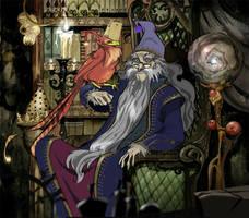 Dumbledore by Sally-Avernier