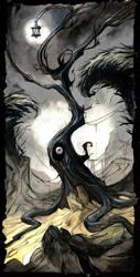 Strange tree by Sally-Avernier