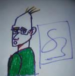 Random Sketch 1# by simoloita