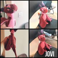 Jovi Plush by upsidedowncat