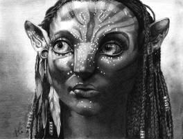 Neytiri by blu-fantasy