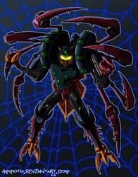 Transmetal Tarantulas by Ammotu