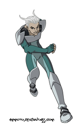 x-men evolution quicksilver by Ammotu