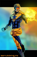 B- is for Booster Gold by Ammotu