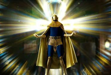 dr fate cosplay by Ammotu