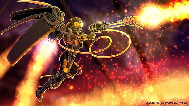 Arkham Origins Firefly by Ammotu