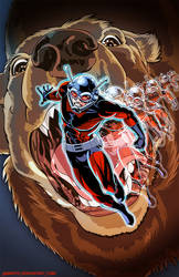 A - is for Ant-Man by Ammotu