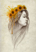 The Girl Who Likes Yellow by hallmarccus
