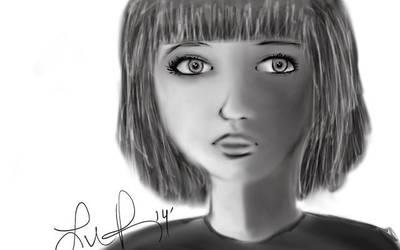 Little girl by princesshoneybutt