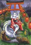 Kitsune by shiverz