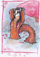 Anthro Japan - Onsen by shiverz