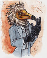 Vulture Suit by shiverz