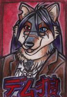 Demetrius Wolf J-Badge by shiverz