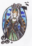 Horned Goddess by shiverz