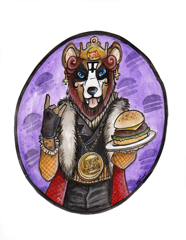 Burger-King Diamond by shiverz