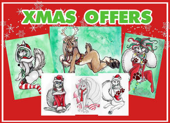 XMAS OFFERS 2018 by shiverz