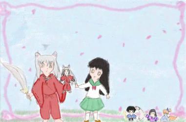 Chibi Inu Gang by Angel-Hope-Sama