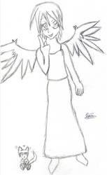 Random Angel and her pet Demon by Angel-Hope-Sama