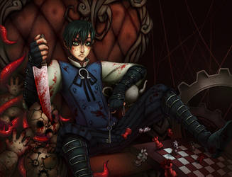 Alex: Madness Return [Genderbend] by SorceressDream