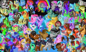 My Little Pony Colored my Life by YoshiRingo