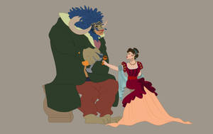 The Beauty and her Beast by Domnics