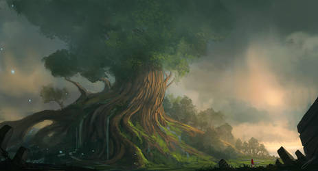 Yggdrasil by JJcanvas
