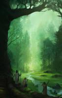 Concerning Hobbits by JJcanvas
