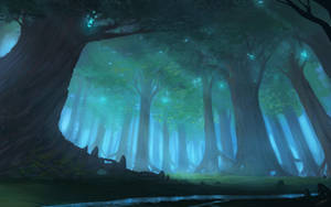 A Forest by JJcanvas