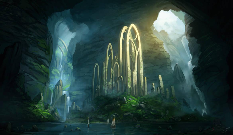 Half Remembered Ruins by JJcanvas