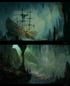 Concept Sketches by JJcanvas