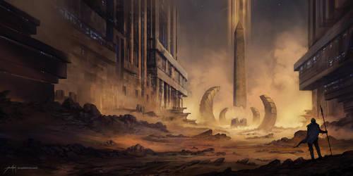 The Desolate by JJcanvas