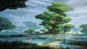 Green Shores - With video timelapse :) by JJcanvas