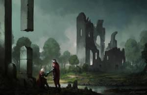 Knights by JJcanvas