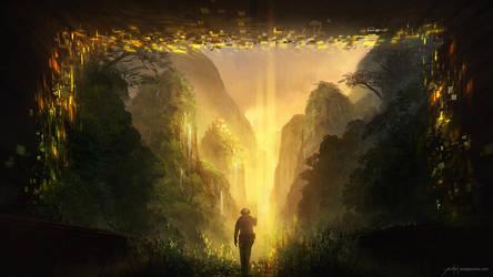 Golden Valley VR by JJcanvas