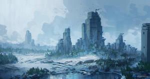 Winter - Sketch by JJcanvas