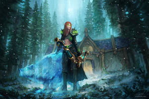 Blood Elf Hunter by JJcanvas