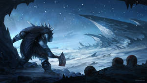 Frozen Wasteland by JJcanvas