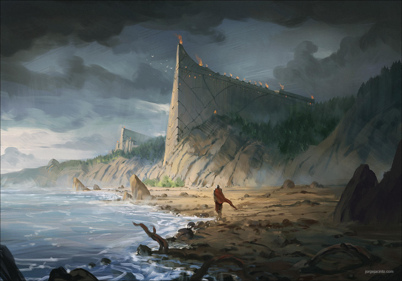 Coastal Fortress by JJcanvas
