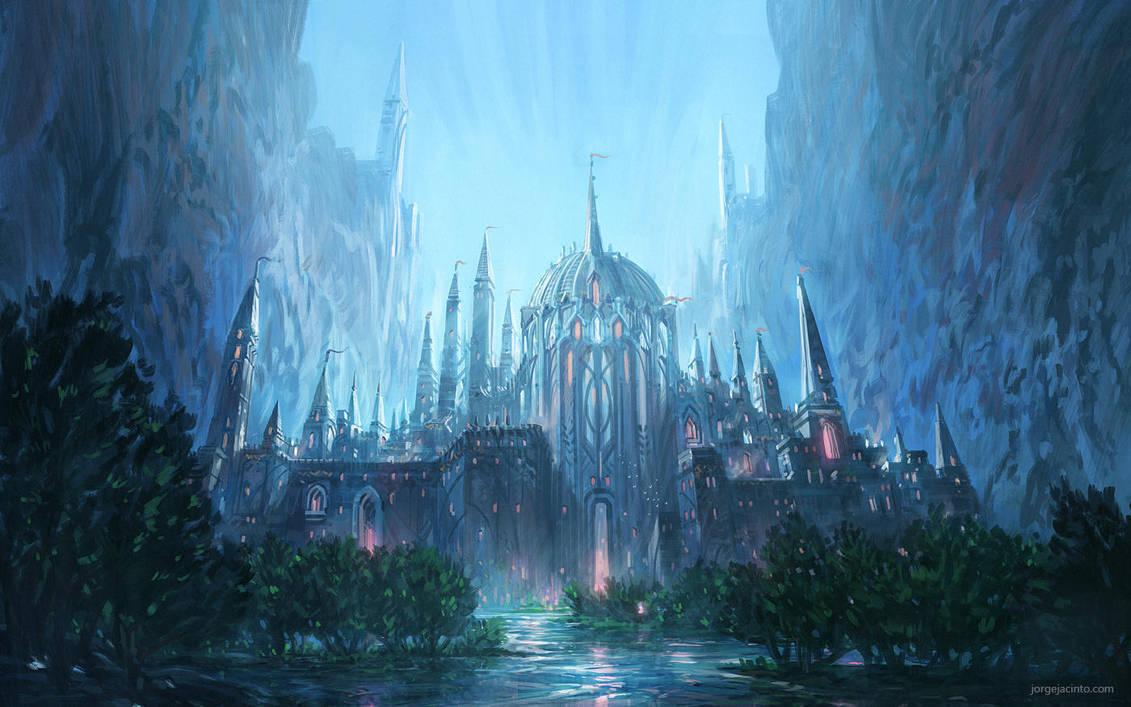 Forgotten Kingdom I by JJcanvas