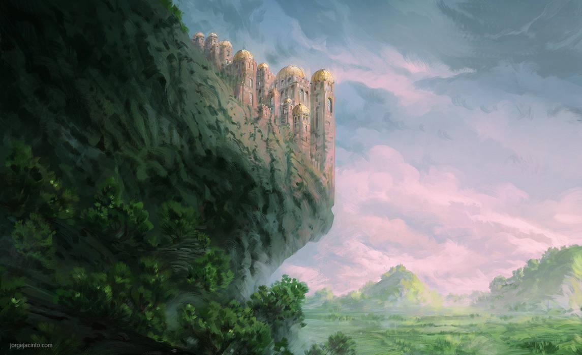 Forgotten Kingdoms VI by JJcanvas