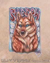 Shadowhuskie badge final by guyver47