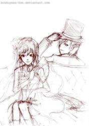 Sketch - Le luxe mysterieuse by krakuyaaa-kon