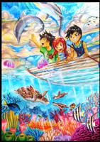 Be the Part of The Sea by krakuyaaa-kon
