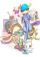 Sonic by krakuyaaa-kon
